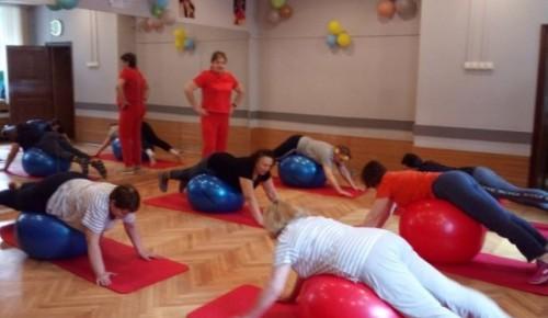Женщины 50+  Академического района  приобщились к общей  физической подготовке