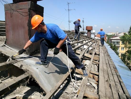 В этом году в Гагаринском районе капитально отремонтируют крыши