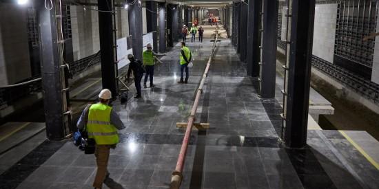 За 10 лет в столице ввели в эксплуатацию около 124 километров линий метро