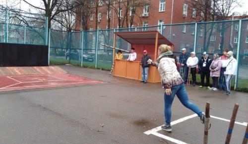 """Академчане заняли второе место в игре """"Городки"""""""