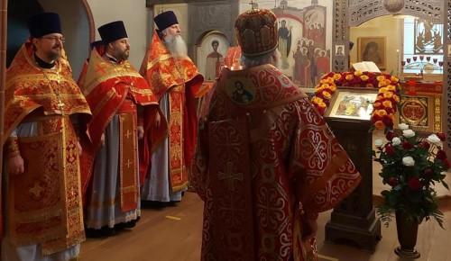 Диакона Казанского храма наградили Патриаршей грамотой