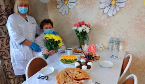 Жительница Теплого Стана отметила 90-летний юбилей