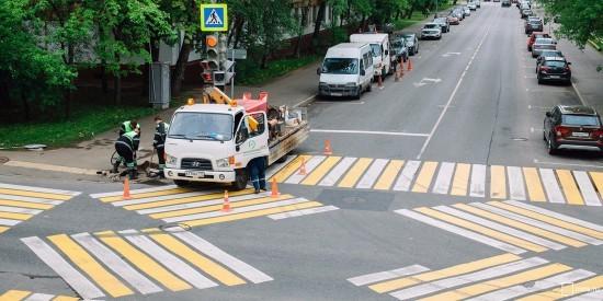 Пешеходный переход в Зюзине будет выглядеть по-новому
