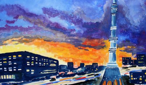 Сергунина: Детские рисунки со всей Москвы прислали на конкурс «Наследие моего района»