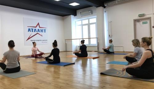 Дополнительная бесплатная группа по йоге открывается в центре «Атлант»