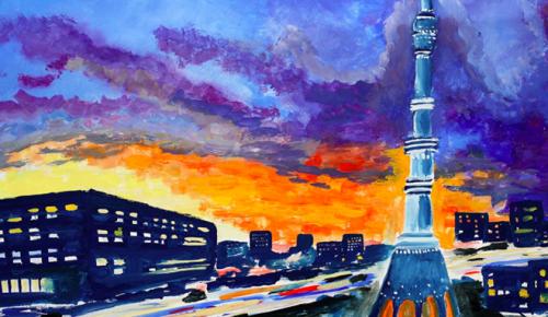В Москве пройдет выставка конкурсадетского рисунка «Наследие моего района» — Сергунина