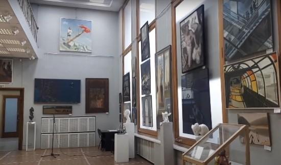 Выпускник Академии акварели стал дипломантом молодежной выставки