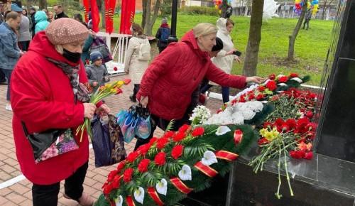 День Победы в Северном Бутове отпраздновали на нескольких площадках