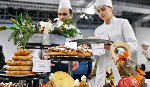 Городской конкурс на лучшего кондитера проходит в Москве