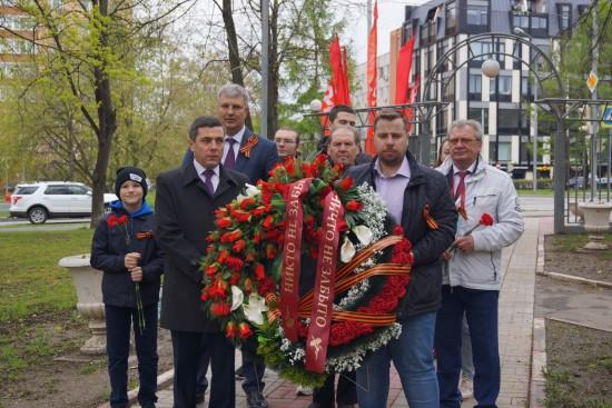 В Черемушках отметили 76-ю годовщину Победы в ВОВ