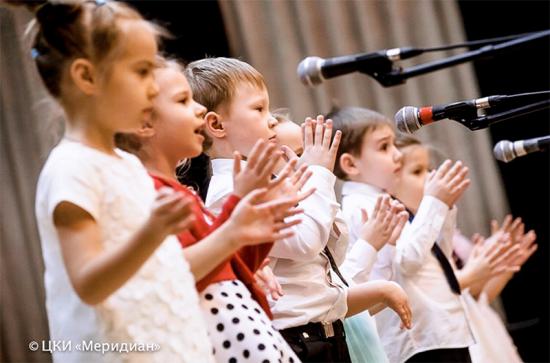 Студия вокально-музыкального развития  «Аллегро» проведет отчетный концерт в центре «Меридиан»