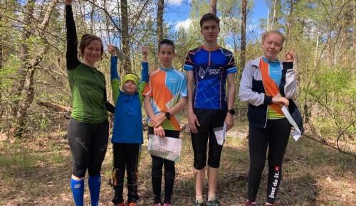 Воспитанники секции «Тропа» центра «Обручевски» выступили на соревнованиях по спортивному ориентированию