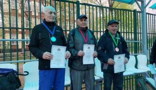 В Черемушках прошли окружные соревнования для участников проекта «Московское долголетие»