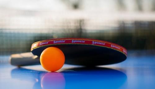 В Котловке действует бесплатная секция настольного тенниса