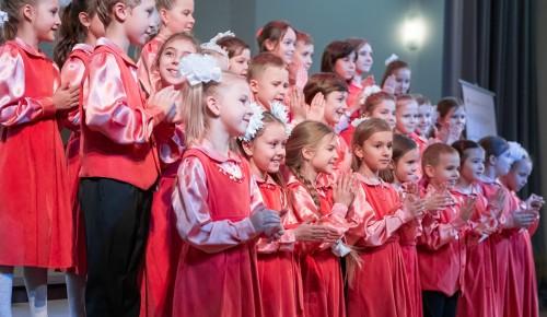 Собянин оценил итоги комплексного обновления детской хоровой студии «Весна» в СВАО