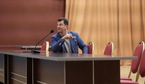 Летчик Романенко рассказал студентам туристического факультета о перспективах космических путешествий
