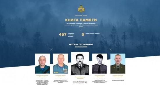 Книга памяти МЧС России. Навечно с нами, навечно в строю…