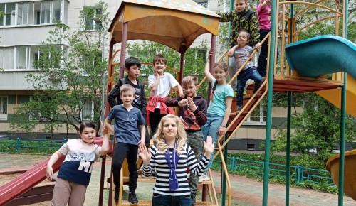 В Черемушках отметили Международный день семьи игровой программой