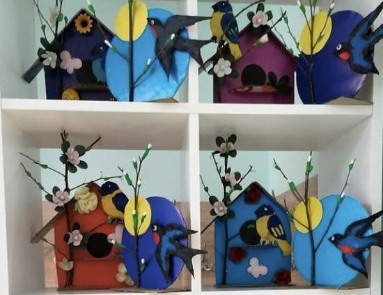 В центре культуры  «Академический» открылась выставка «Весна»