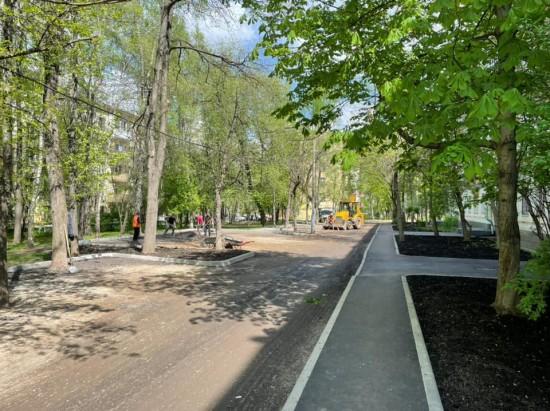 На нескольких улицах в Черемушках ремонтируют асфальт