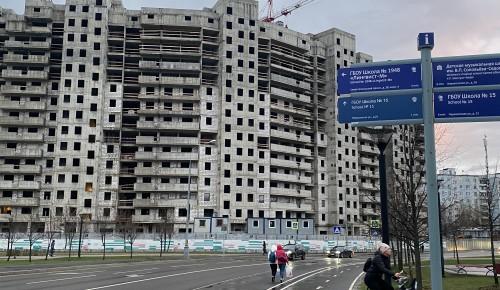 В этом году по программе реновации в Черемушках планируется ввести в эксплуатацию новостройку