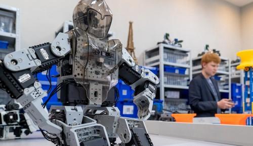 В центре «Лидер» работает современное направление по робототехнике