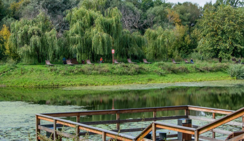 Собянин обсудил благоустройство поймы реки Яуза с жителями северо-востока Москвы