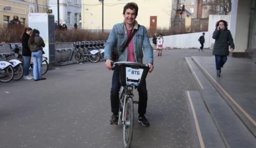 Жители ЮЗАО могут воспользоваться онлайн-картой велопроката
