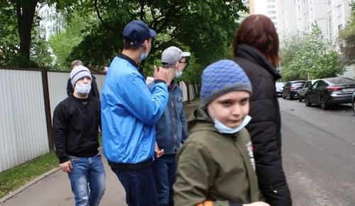 Ребятам из «Юноны» напомнили о правилах дорожного движения при переходе улицы