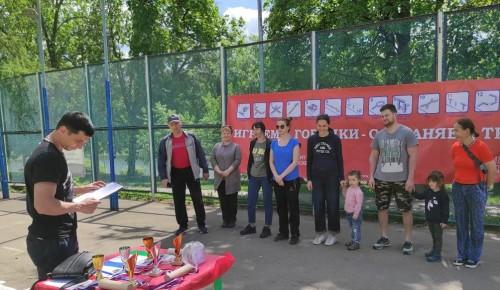 В Академическом районе столицы прошел городошный турнир