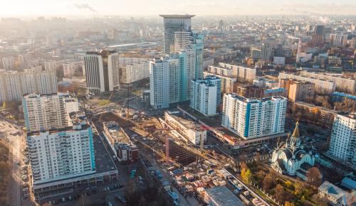 Площадь промышленного строительства в Москве в 2020 году увеличилась вдвое