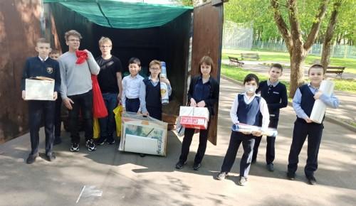 Школьники из Черемушек приняли участие в экологических акциях