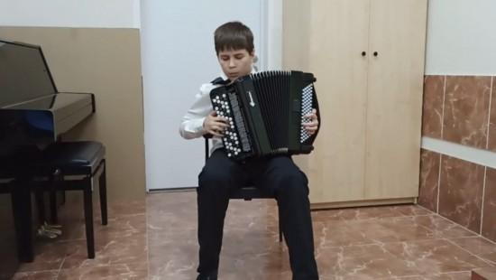 """Ученики ДШИ """"Юность"""" выступили на отчётном онлайн-концерте в ЮЗАО"""