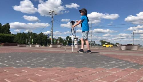 Юнкоры медиастудии школы №2086 сняли репортажи о достопримечательностях Воробьёвых гор