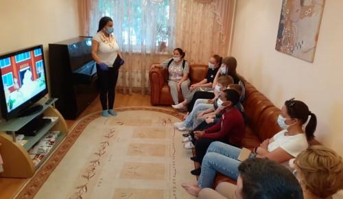 В семейном центре «Гелиос» прошла встреча на тему «Безопасность детей – это главное!»