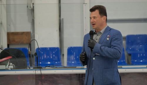 Роман Романенко поздравил «Морских львов» с успешным завершением тренировочного года