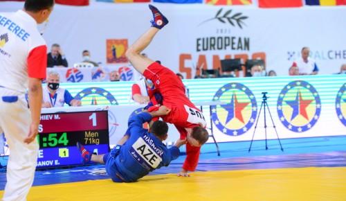 Спортсмены «Самбо-70» на чемпионате Европы завоевали 3 медали