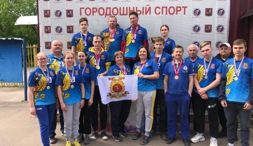Городошники «Самбо-70» на чемпионате Москвы завоевали 12 золотых наград