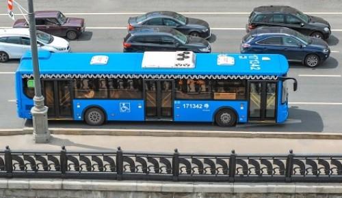 Автобусные маршруты изменятся в ЮЗАО в начале июня