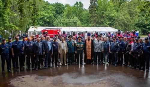 217 лет пожарной охране Москвы