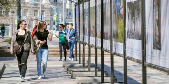 Сервис RUSSPASS открыл на Цветном бульваре фотовыставку ко Дню России