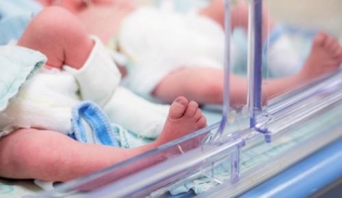 В мае в Обручевском районе родилось 284 малыша