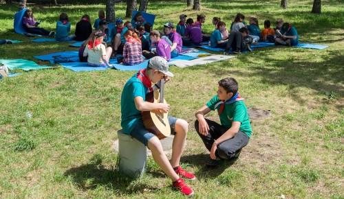 «Мастерские полезных каникул» приглашают юных москвичей на бесплатные занятия в парках