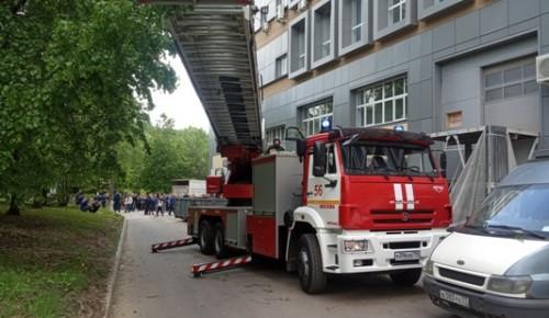 Проведение практической противопожарной тренировки в «Красной Звезде»