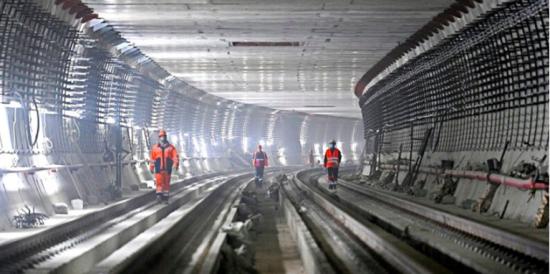 В Москве к концу года планируют завершить проходку тоннелей БКЛ