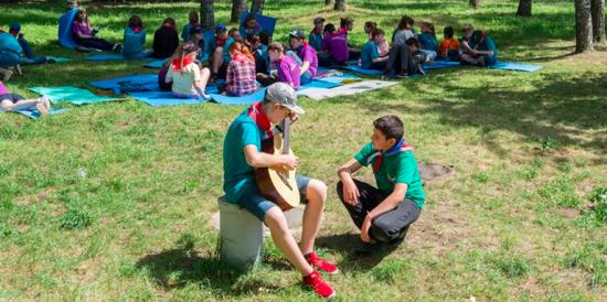 В парках Москвы детей ждут бесплатные занятия