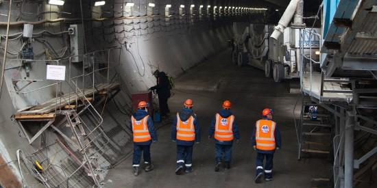 До конца года в Москве планируют завершить проходку Большой кольцевой линии метро