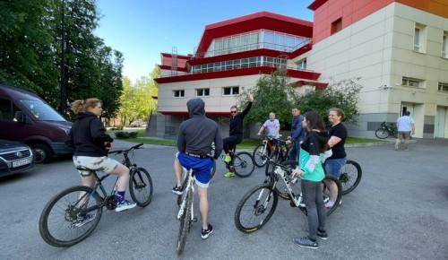 В Котловке состоялся велозаезд во Всемирный день велосипеда