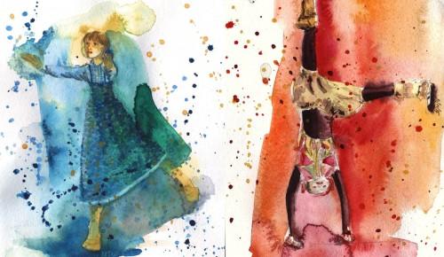 """В центре """"Орион"""" открылась выставка работ досуговой студии """"Театр моды Каролина"""""""