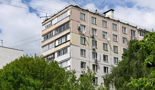 Дом на улице Генерала Антонова в Конькове капитально отремонтируют
